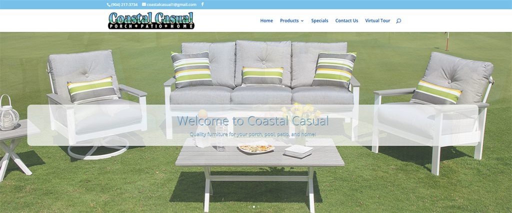 Coastal Casual Furniture | A Website by Gale Force Marketing, Inc.
